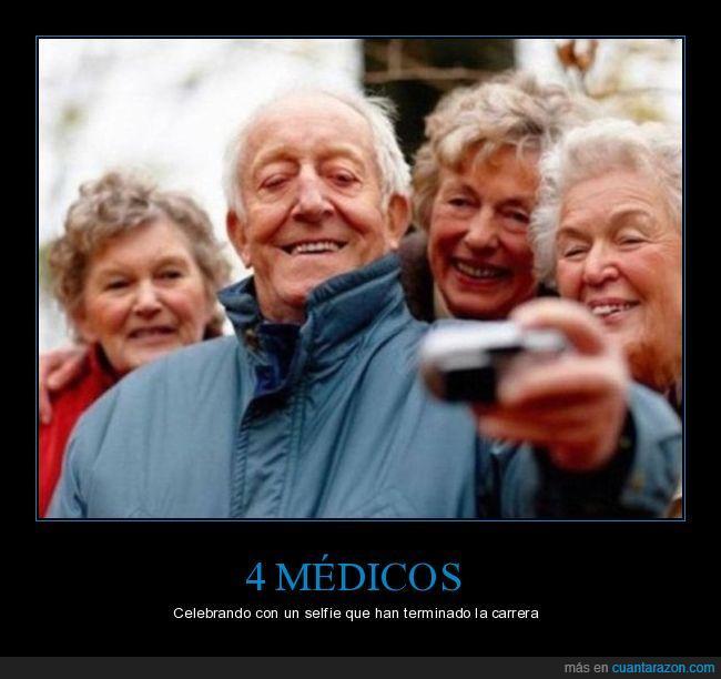 abuelos,medicina,selfie,viejos