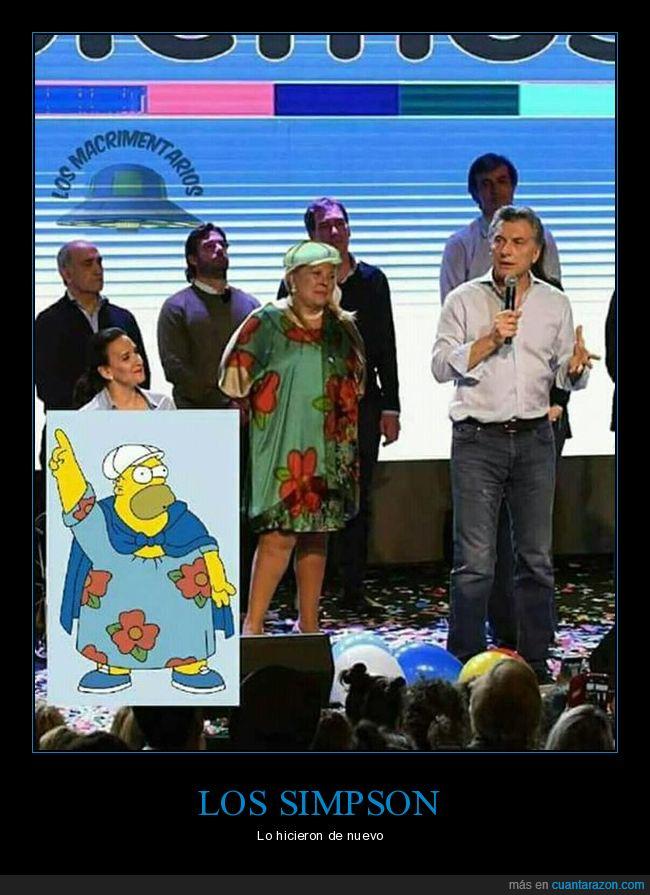 argentina,elecciones,predicciones,simpson