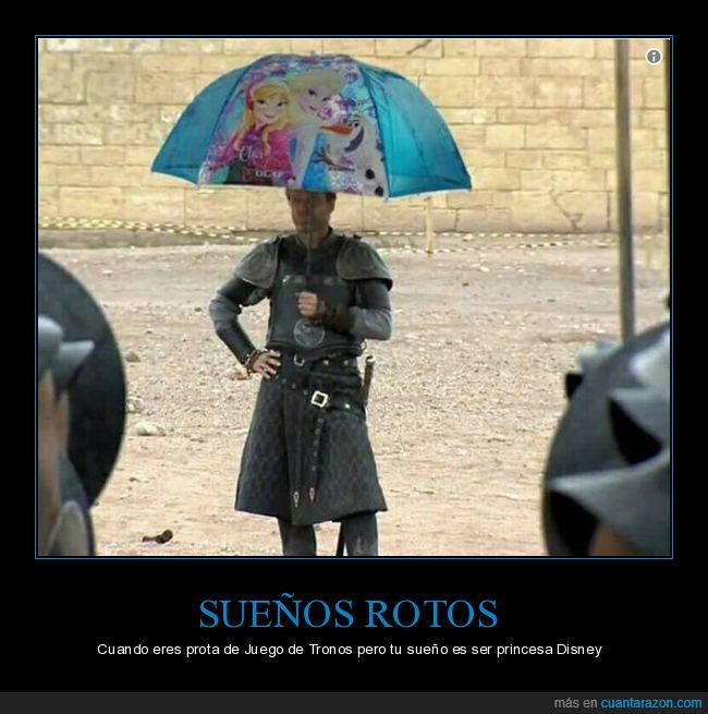 disney,frozen,juego de tronos,paraguas