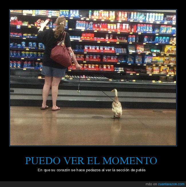 patés,pato,supermercado