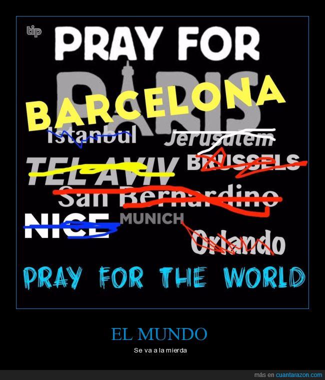 atentado,Barcelona,pray,rezar