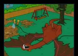 Enlace a Spoilers hasta en los Simpson