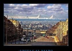 Enlace a Pirámides vistas desde El Cairo
