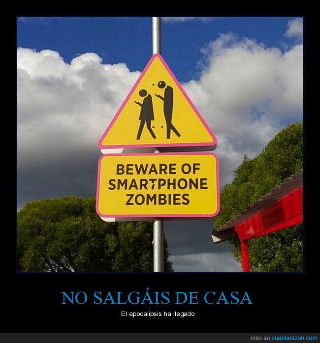 apocalipsis,millennials,smartphones,zombies