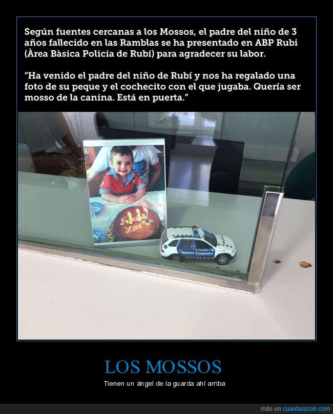 atentado,barcelona,coche,mossos,niño,policía,prayforbarcelona,rubí
