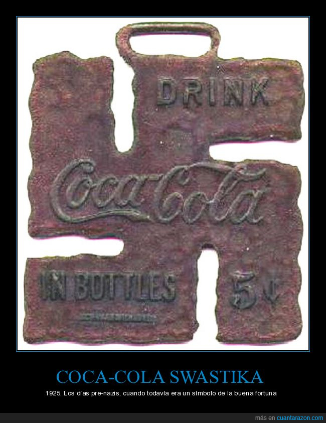 Cocacola,esvastica,swastica