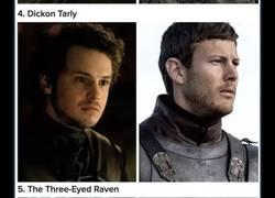 Enlace a 11 personajes de Juego de Tronos cuyo actor fue cambiado y no nos habíamos ni enterado