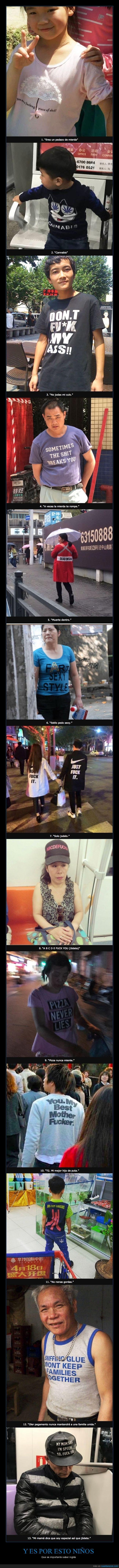 camisetas,chino,ingles,textos