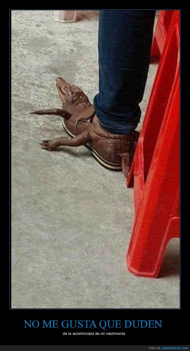 botas,calzado,cocodrilo