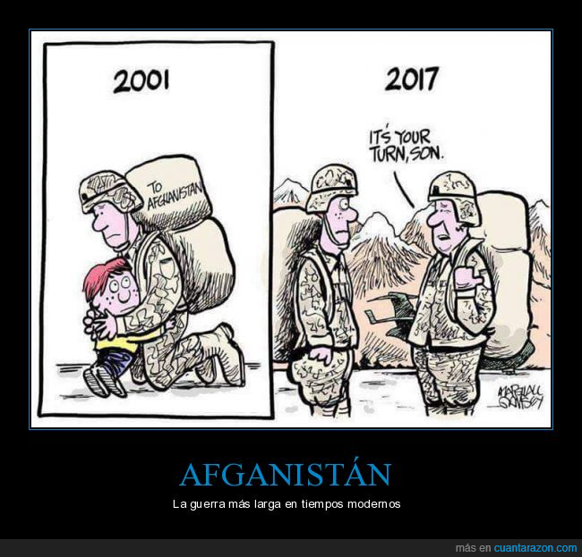 Afganistán,guerra,hijo,larga,militares,padre