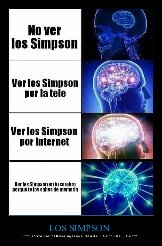 cerebro,frases,recordar,simpson
