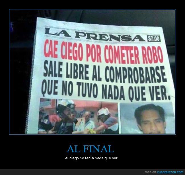 ciego,noticia,periódico