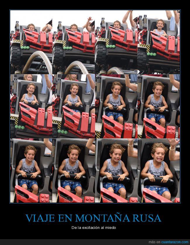 montaña rusa,niño,rollercoaster
