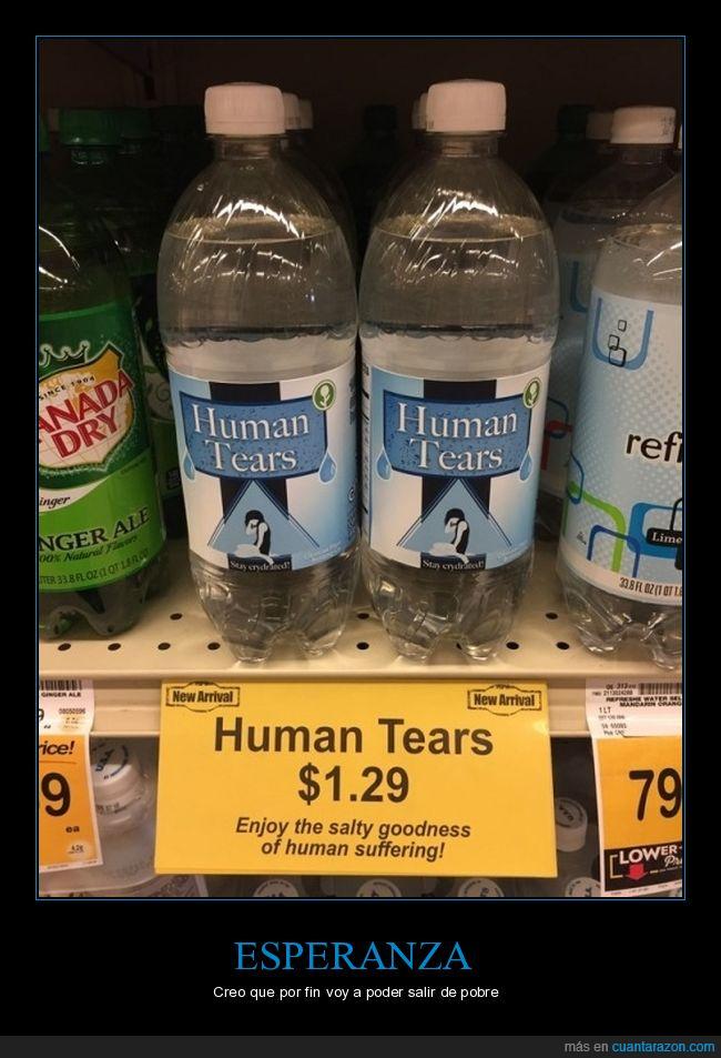 botellas,humano,lágrimas,venta