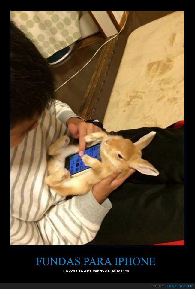 carcasas,conejo,fundas,smartphone