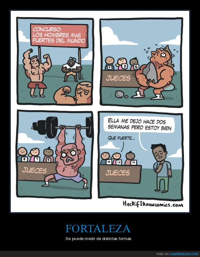 fuerte,músculos,relación