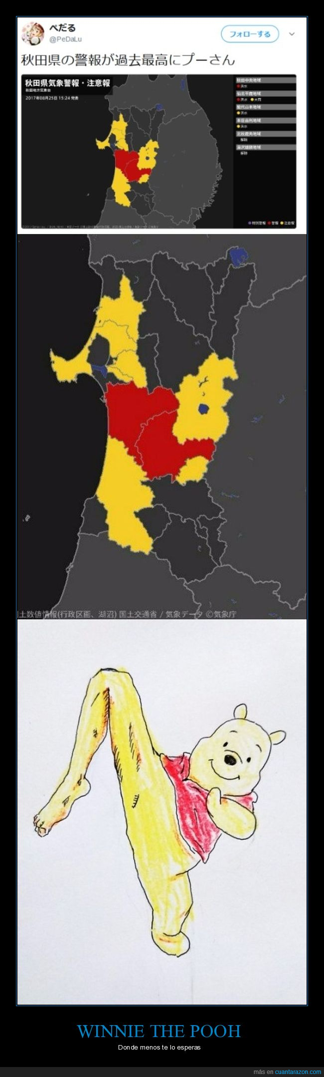 mapa,winnie the pooh