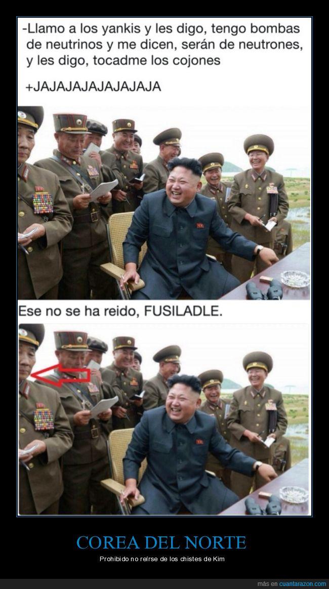 corea del norte,kim jong un,risas