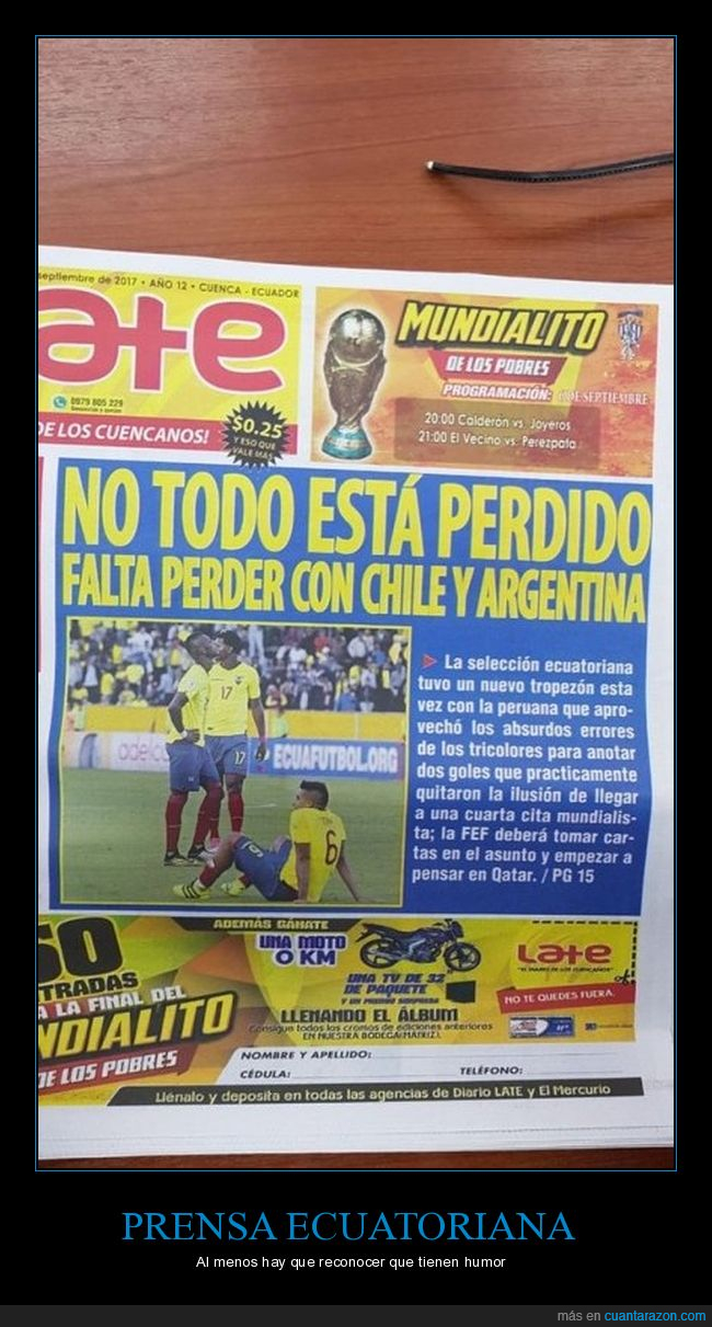 deportes,ecuador,fútbol,periódico