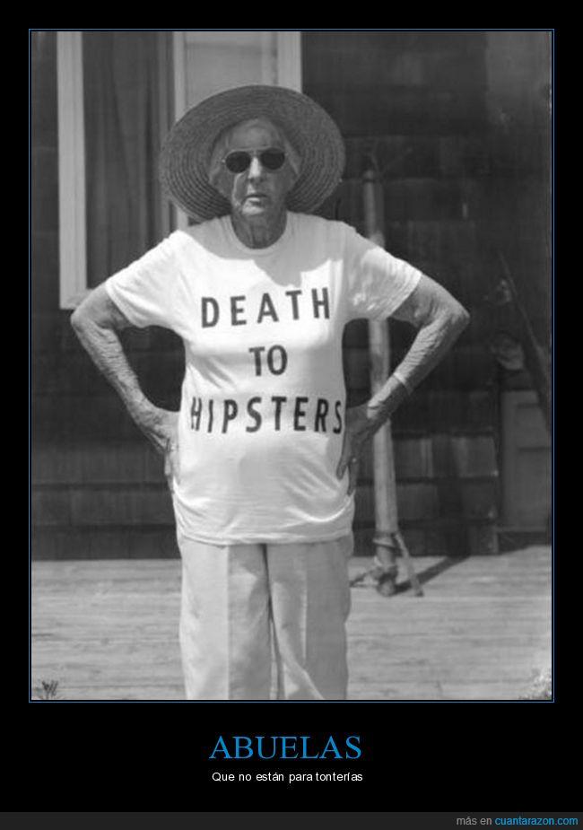abuela,camiseta,hipster