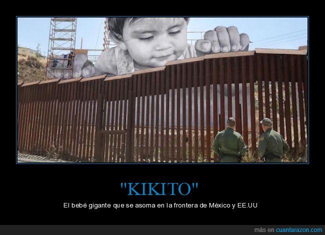Actualidad,Artista francés,Estados Unidos,Frontera,México