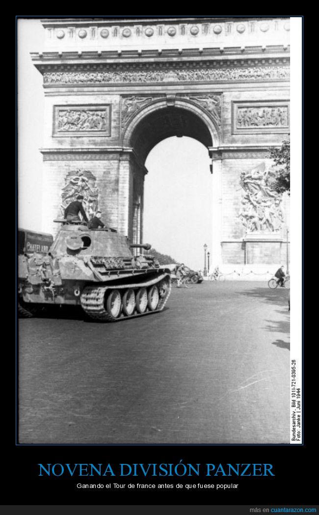 Alemania nazi,arco del triunfo,derrota,Francia,Panzer,rendirse,segunda guerra mundial,wermacht