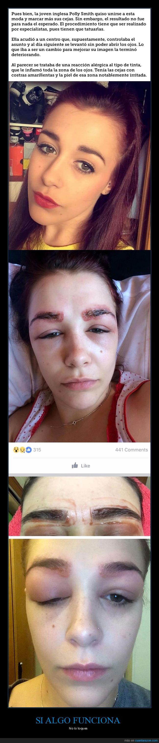 alergia,cejas,tatuaje