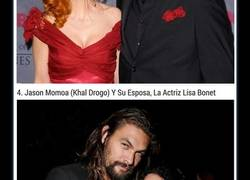 Enlace a 12 personajes de Game Of Thrones con sus parejas en la vida real y NO, ella NO SALE