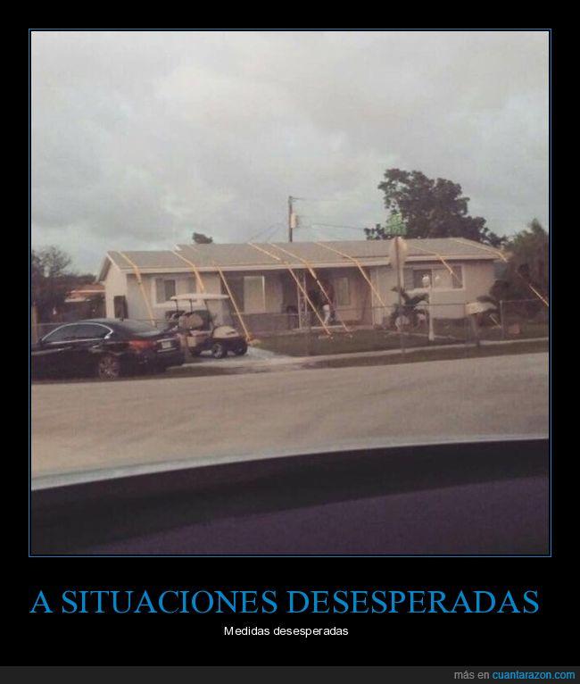 casa,huracán irma,solución