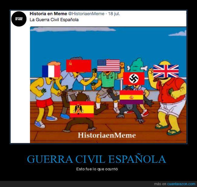 civil española,guerra,meme
