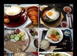 Enlace a Desayunando en todo el mundo