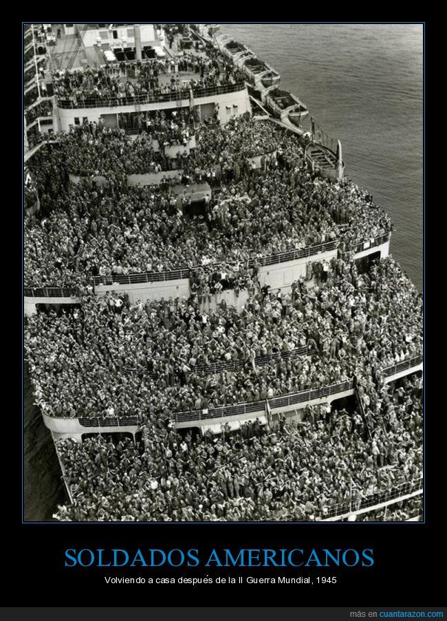 1945,casa,eeuu,soldados,usa,volver