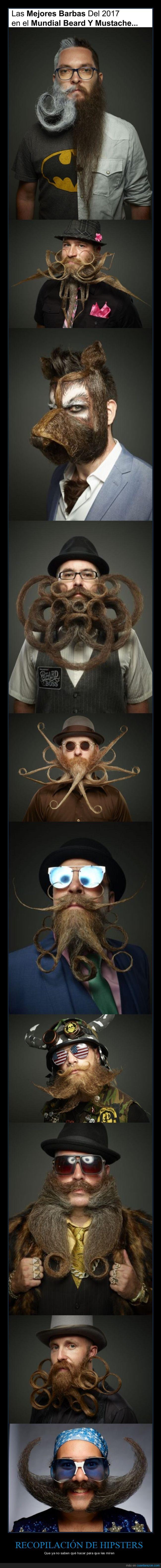 barbas,hipsters