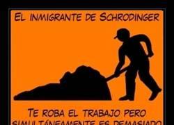Enlace a El inmigrante de Schrodinger