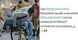 Enlace a Este héroe sin capa ayudando en el sismo de México verá su gran labor recompensada