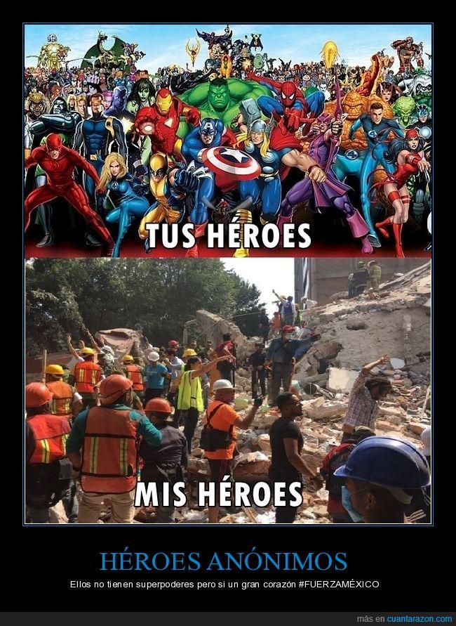 héroes,México,sismo,Voluntarios
