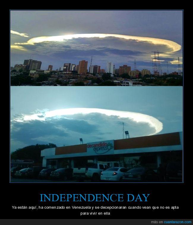 crisis en Venezuela,invasión,Maracaibo,nube cumulonimbus,vinieron a llevarse a maduro! xD.