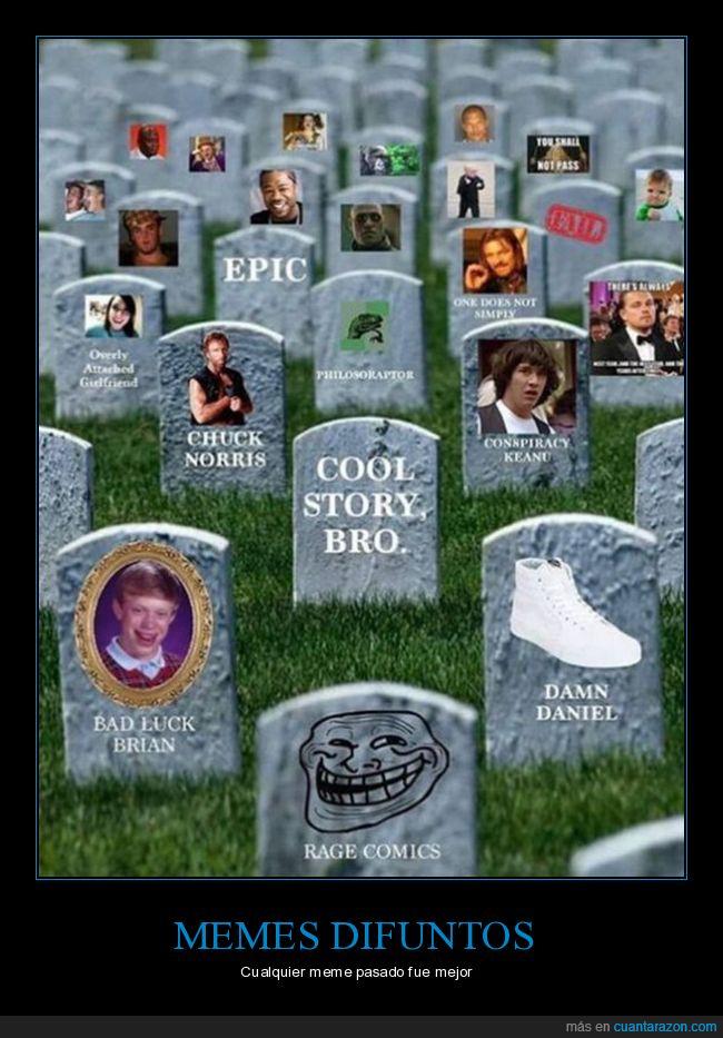 lápidas,memes