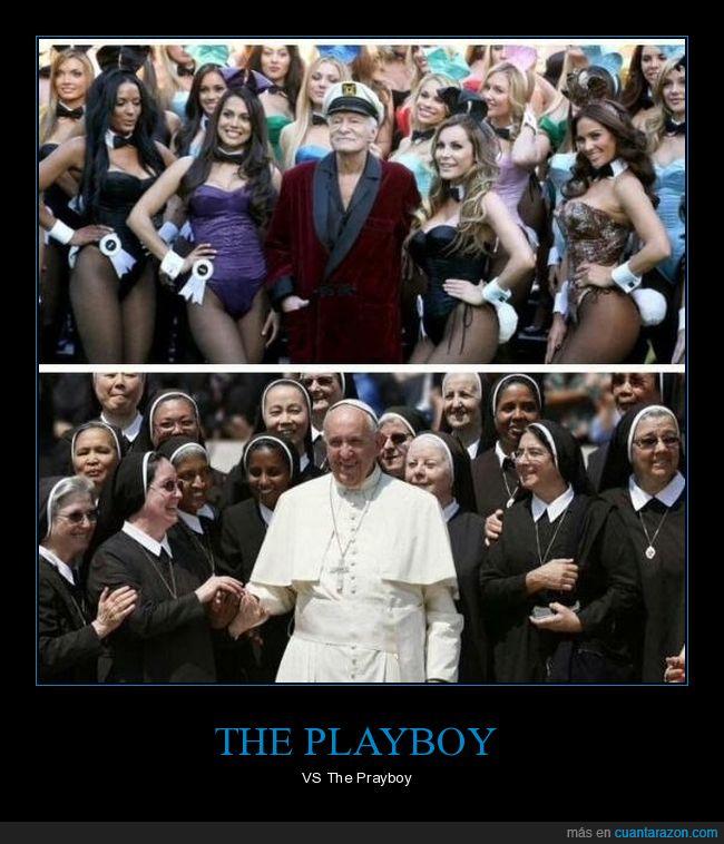 Fco,Hugh Hefner,papa,playboy
