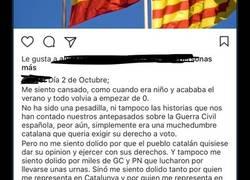 Enlace a La opinión de este catalán se vuelve viral por su opinión hacia el gobierno de Catalunya y España