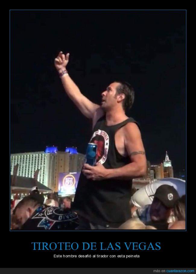 ataque,cerveza,desafiante,gesto obsceno,Hombre,las Vegas,terrorismo,tiroteo