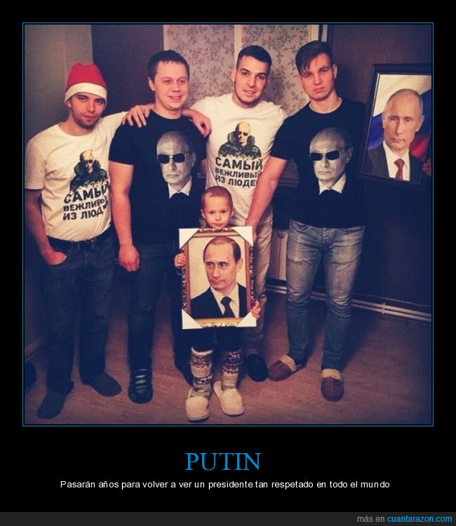 camisetas,Putin,rusos