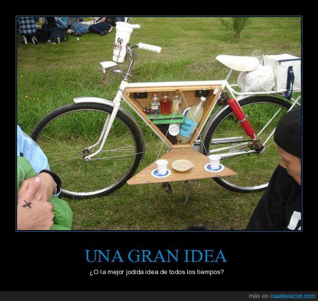 bicicleta,compartimento,picnic