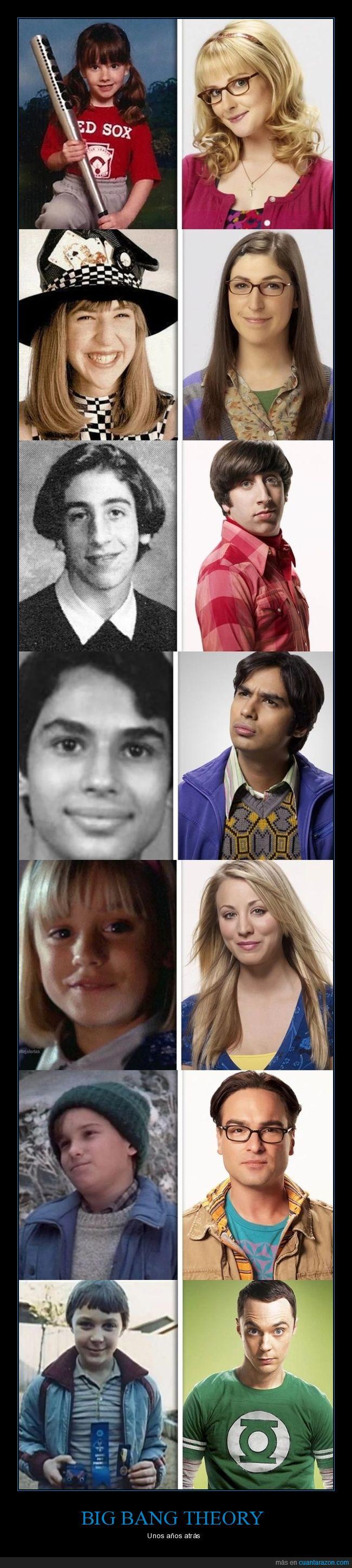 bbt,big bang theory,niños,pipiolos