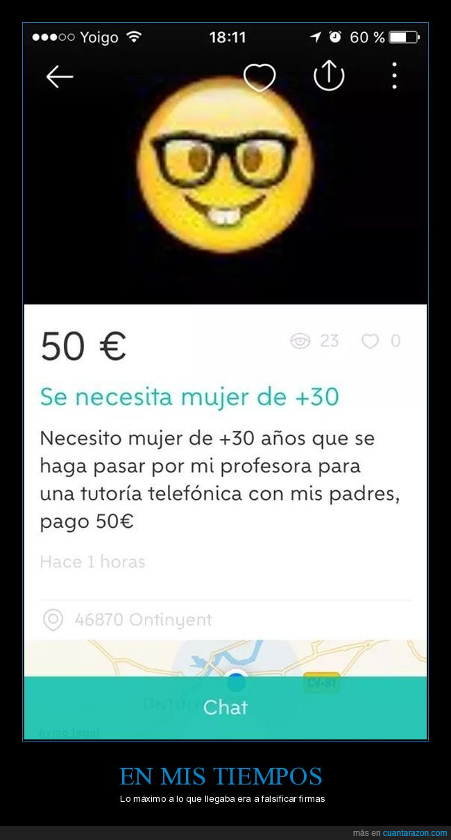 falsa,profesora,tutoría,wallpapop