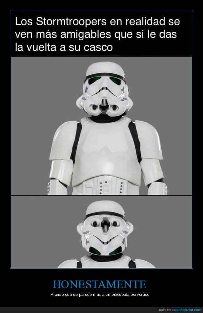Perturbador,Pervertido,Psicópata,Star Wars,Stormtrooper