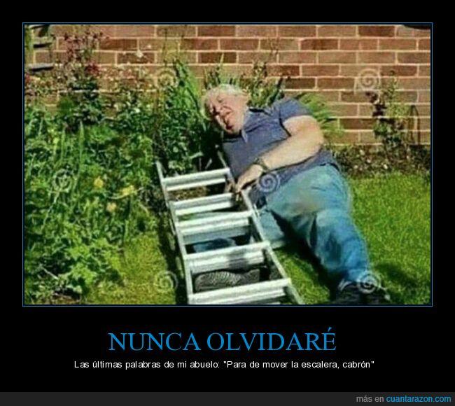 abuelo,caída,dep,escalera