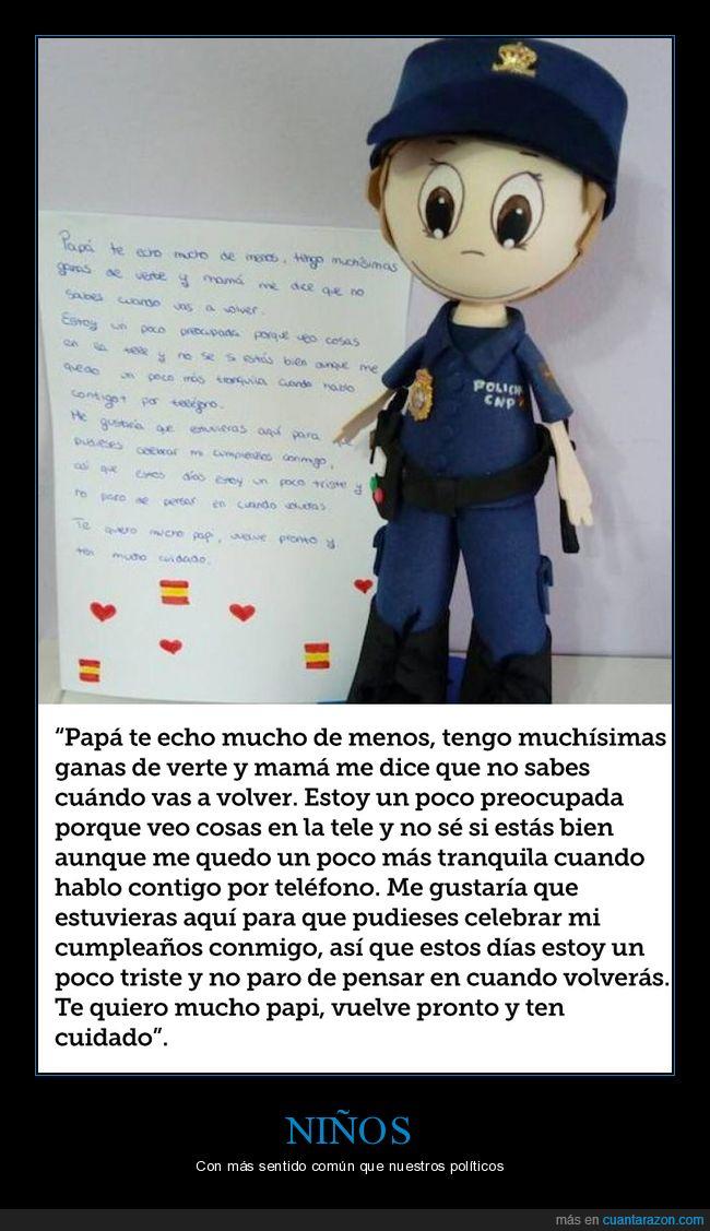 carta,catalunya,independencia,niña,policía