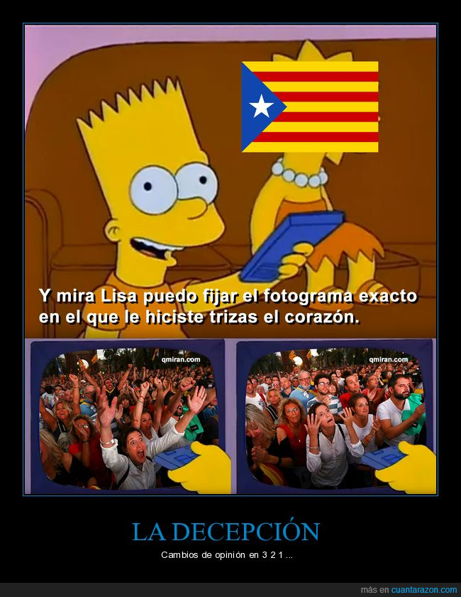 decepción,fail,independencia,puigdemon