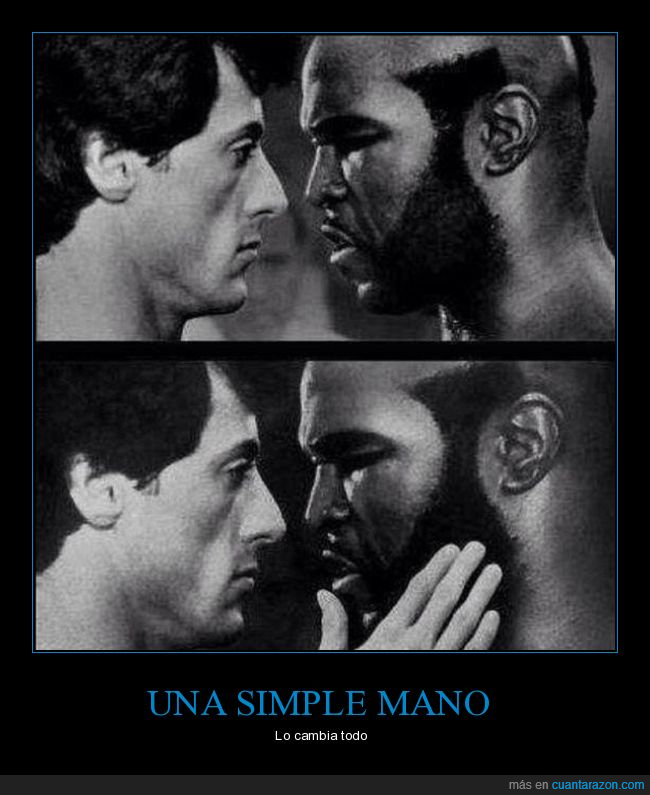 amor,ma,mano,mr T,romance,sylvester stallone